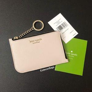 NWT Kate Spade Cameron Medium L-Zip Card Holder